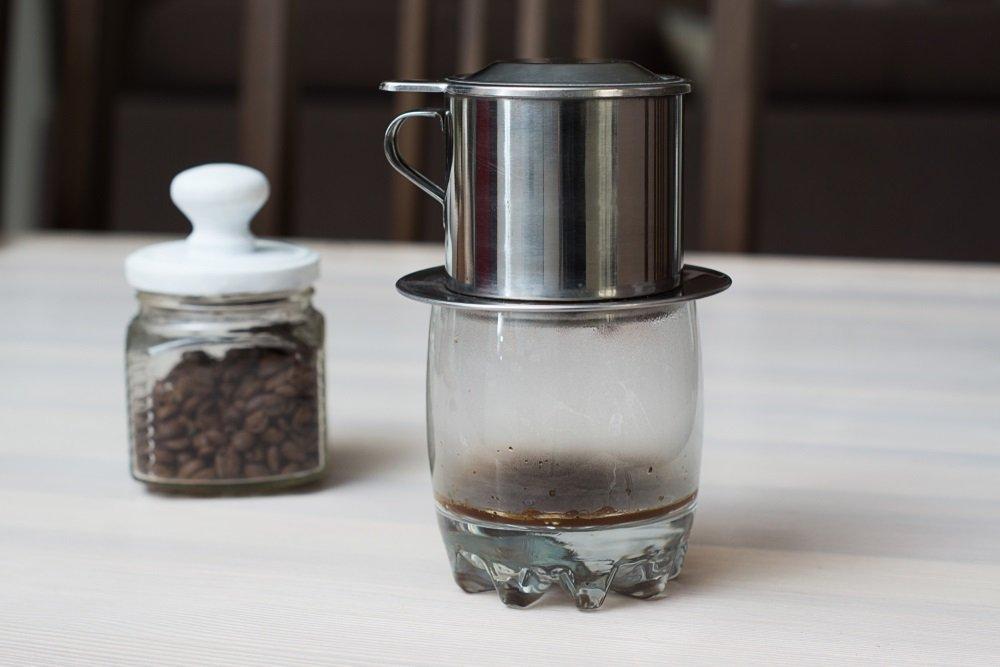 Cách nhận biết cà phê pha bằng phin