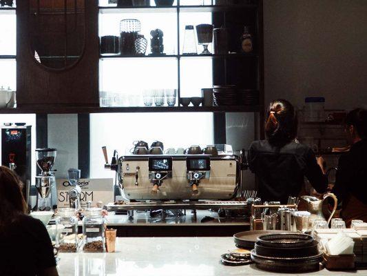 Máy pha cà phê Astoria Storm SAE 2 group tại quán cà phê