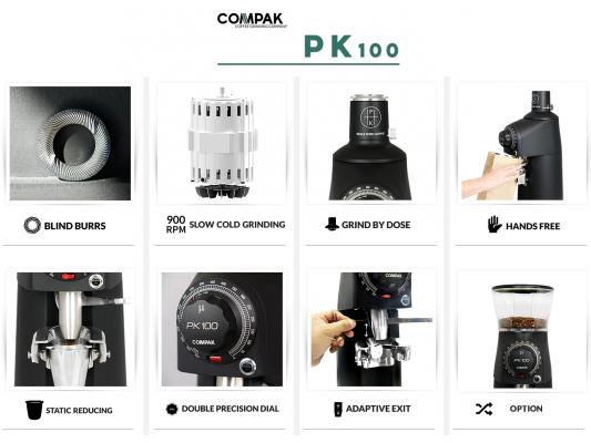 Các ưu điểm nổi bật của máy xay cà phê compak pk100