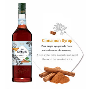 cinnamon syrup giffard