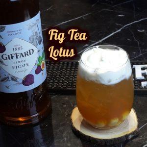 Fig Tea Lotus | Chia Sẻ Công Thức Đồ Uống | Quang Tân Hòa Official
