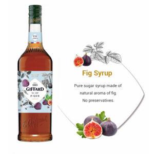 syrup fig giffard