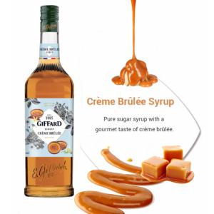 Creme Brulee syrup