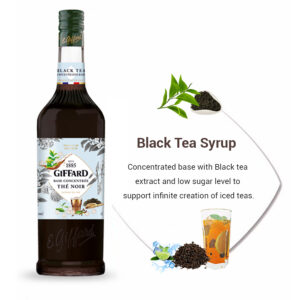 Black tea syrup Giffard