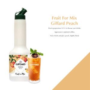 Fruit For Mix Giffard Peach