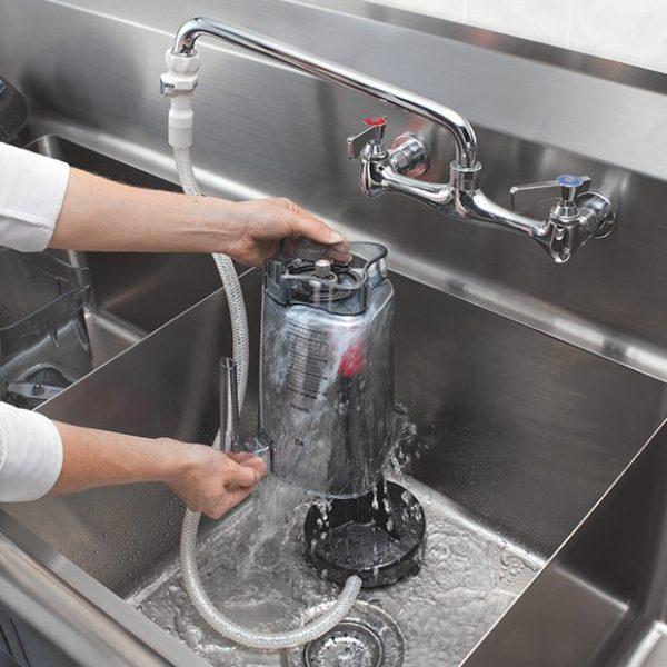 Rinse O Matic - máy vệ sinh cối vitamix 2